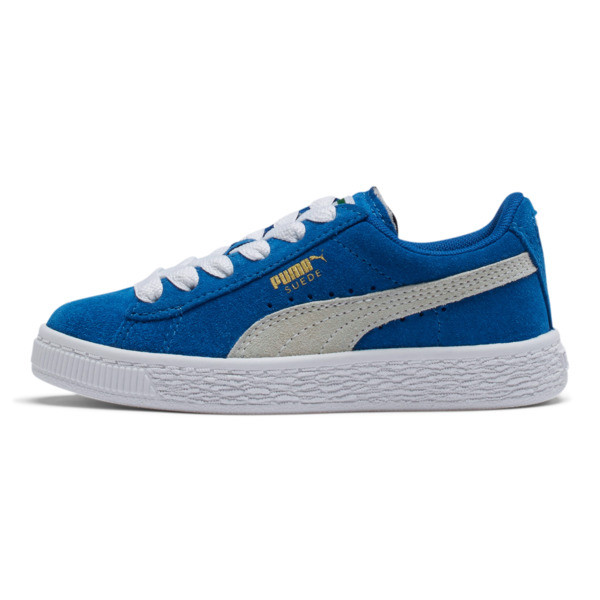 Suede Sneakers PS, Snorkel Blue-Puma White, large