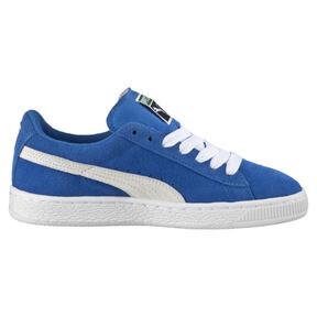 Thumbnail 3 of Suede Kids' Trainers, Snorkel Blue-Puma White, medium