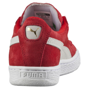 Thumbnail 4 of Suede Kids' Trainers, high risk red-white, medium
