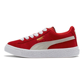 Thumbnail 1 of Suede Sneakers PS, high risk red-white, medium