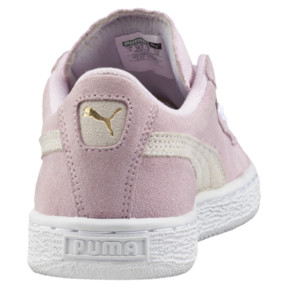 Thumbnail 4 of Suede Kids' Trainers, Pink Lady- White-P.T. Gold, medium