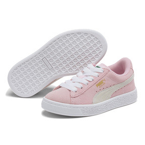 Thumbnail 2 of Suede Sneakers PS, Pink Lady- White-P.T. Gold, medium