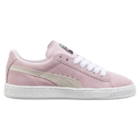 Thumbnail 3 of Suede Kids' Trainers, Pink Lady- White-P.T. Gold, medium