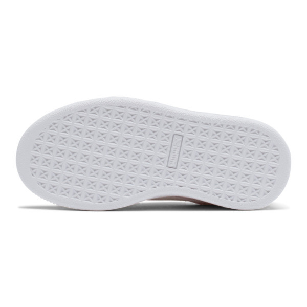 Suede Sneakers PS, Pink Lady- White-P.T. Gold, large
