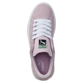 Thumbnail 5 of Suede Kids' Trainers, Pink Lady- White-P.T. Gold, medium