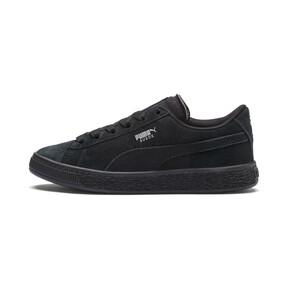 Thumbnail 1 van Suede sneakers voor kinderen, Puma Black-Puma Silver, medium