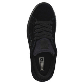 Thumbnail 5 of Suede Kids' Trainers, Puma Black-Puma Silver, medium