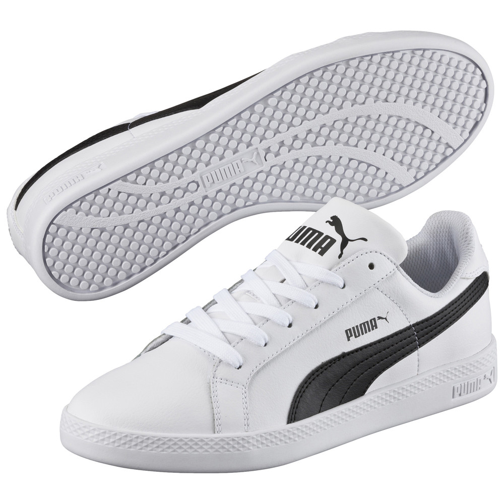 Купить Кроссовки, PUMA - female - Кеды Puma Smash Wns L – white-black – 36