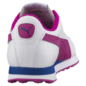 Thumbnail 4 of PUMA Turin Sneakers JR, Puma White-ULTRA MAGENTA, medium