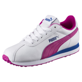 Thumbnail 1 of PUMA Turin Sneakers JR, Puma White-ULTRA MAGENTA, medium