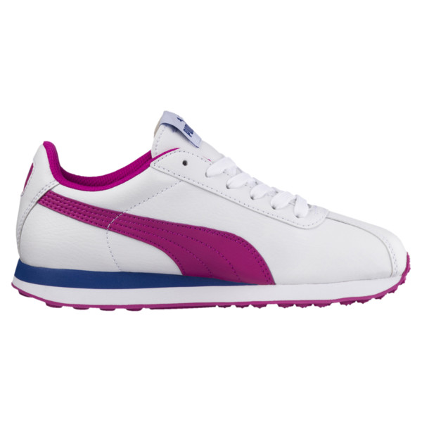 PUMA Turin Sneakers JR, Puma White-ULTRA MAGENTA, large