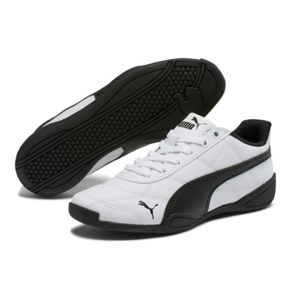 Tune Cat 3 Shoes JR, Puma White-Puma Black, large
