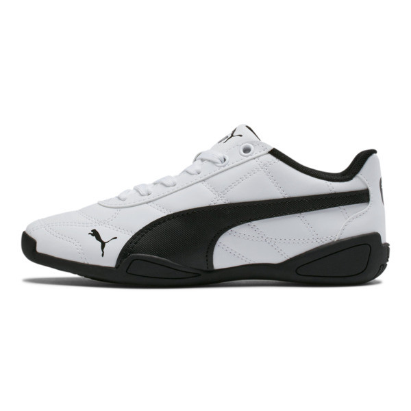 74247d389 Tune Cat 3 Shoes JR, Puma White-Puma Black, large