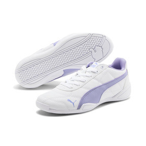 Thumbnail 2 of Tune Cat 3 Shoes JR, Puma White-Sweet Lavender, medium