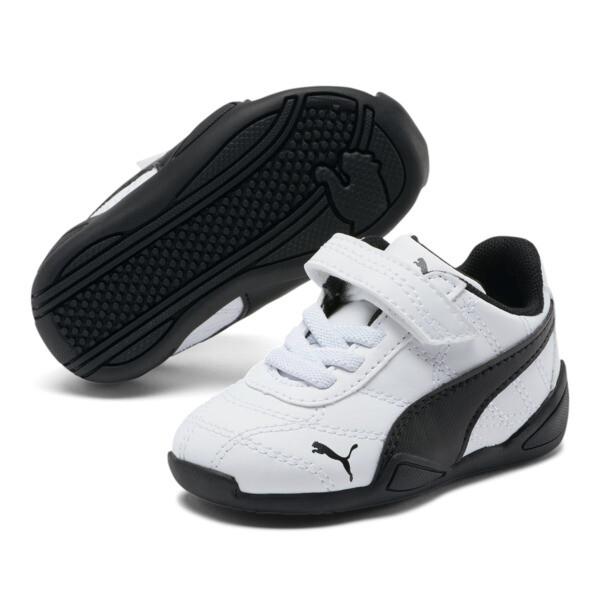 Tune Cat 3 AC Toddler Shoes, Puma White-Puma Black, large