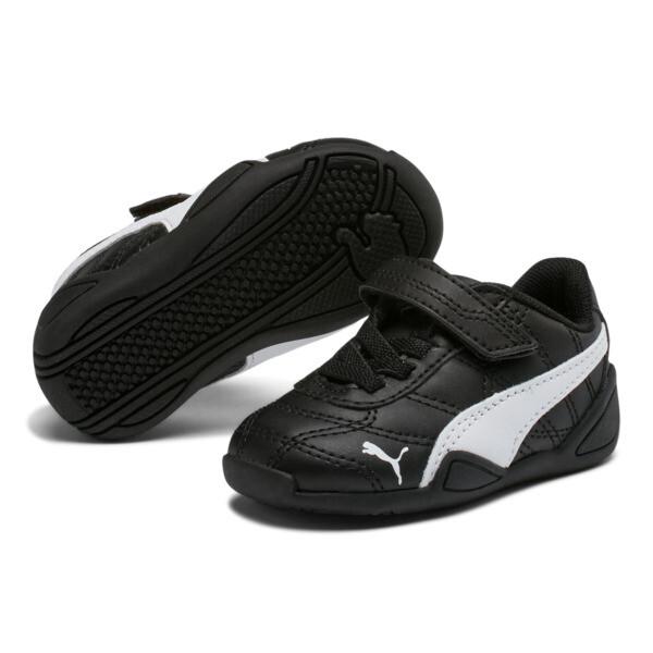 Tune Cat 3 AC Toddler Shoes, Puma Black-Puma White, large