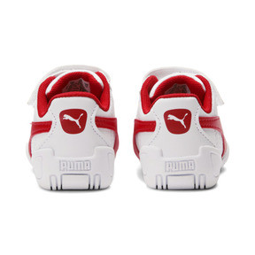 Thumbnail 4 of Tune Cat 3 AC Toddler Shoes, Puma White-Flame Scarlet, medium