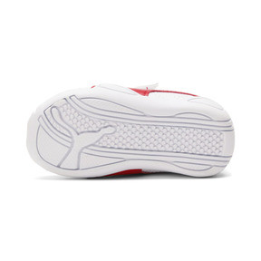 Thumbnail 3 of Tune Cat 3 AC Toddler Shoes, Puma White-Flame Scarlet, medium