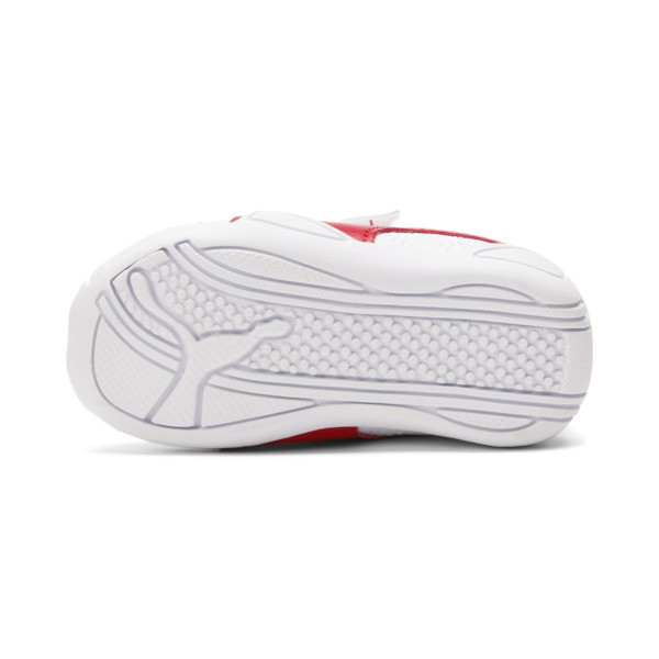 Tune Cat 3 AC Toddler Shoes, Puma White-Flame Scarlet, large
