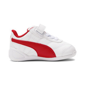 Thumbnail 5 of Tune Cat 3 AC Toddler Shoes, Puma White-Flame Scarlet, medium