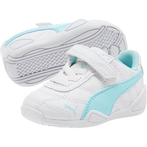 Miniatura 2 de Zapatos Tune Cat3AC para bebés, Puma White-Island Paradise, mediano
