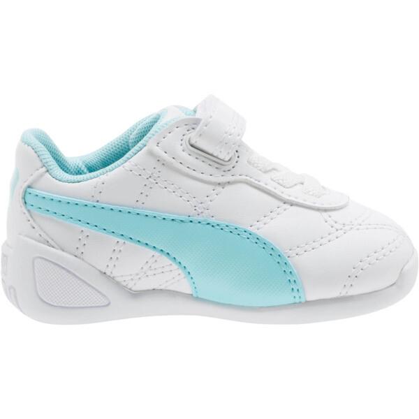 Zapatos Tune Cat3AC para bebés, Puma White-Island Paradise, grande