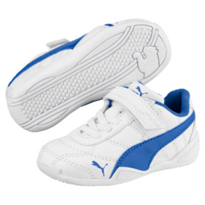 Thumbnail 1 of Tune Cat 3 AC Shoes INF, Puma White-Strong Blue, medium