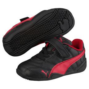 Thumbnail 2 of Tune Cat 3 AC Toddler Shoes, Puma Black-Ribbon Red, medium