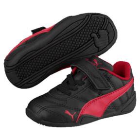 Thumbnail 1 of Tune Cat 3 AC Toddler Shoes, Puma Black-Ribbon Red, medium