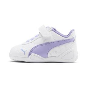 Miniatura 1 de Zapatos Tune Cat3AC para bebés, Puma White-Sweet Lavender, mediano