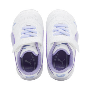 Miniatura 6 de Zapatos Tune Cat3AC para bebés, Puma White-Sweet Lavender, mediano