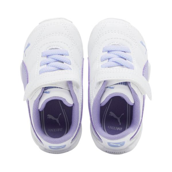 Zapatos Tune Cat3AC para bebés, Puma White-Sweet Lavender, grande