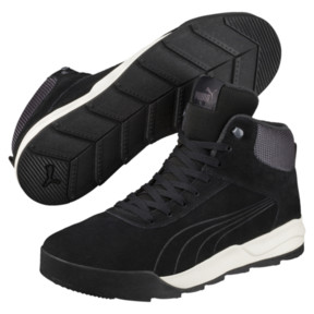 Thumbnail 2 of Desierto Trainer High Tops, Black-Black -Whisper White, medium