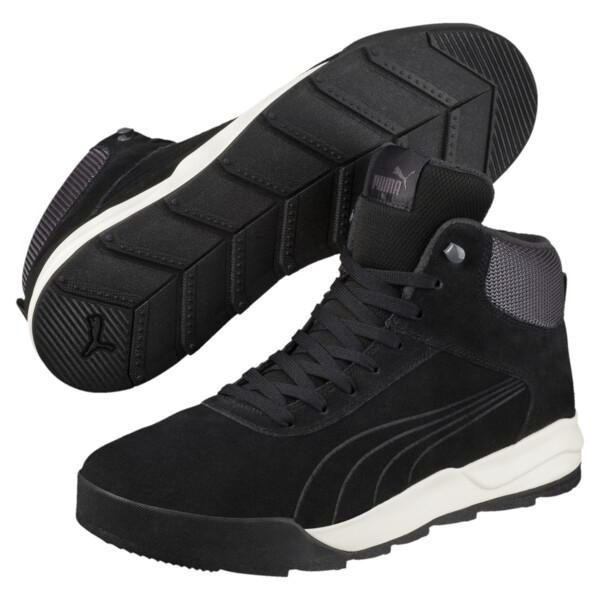 Chaussure montante Desierto Sneaker, Black-Black -Whisper White, large