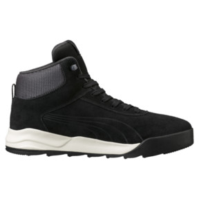 Thumbnail 3 of Desierto Trainer High Tops, Black-Black -Whisper White, medium