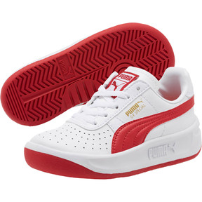 Thumbnail 2 of GV Special Little Kids' Shoes, Puma White-Ribbon Red, medium