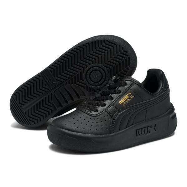 Zapatos GV Special para niños, Puma Black-Puma Team Gold, grande