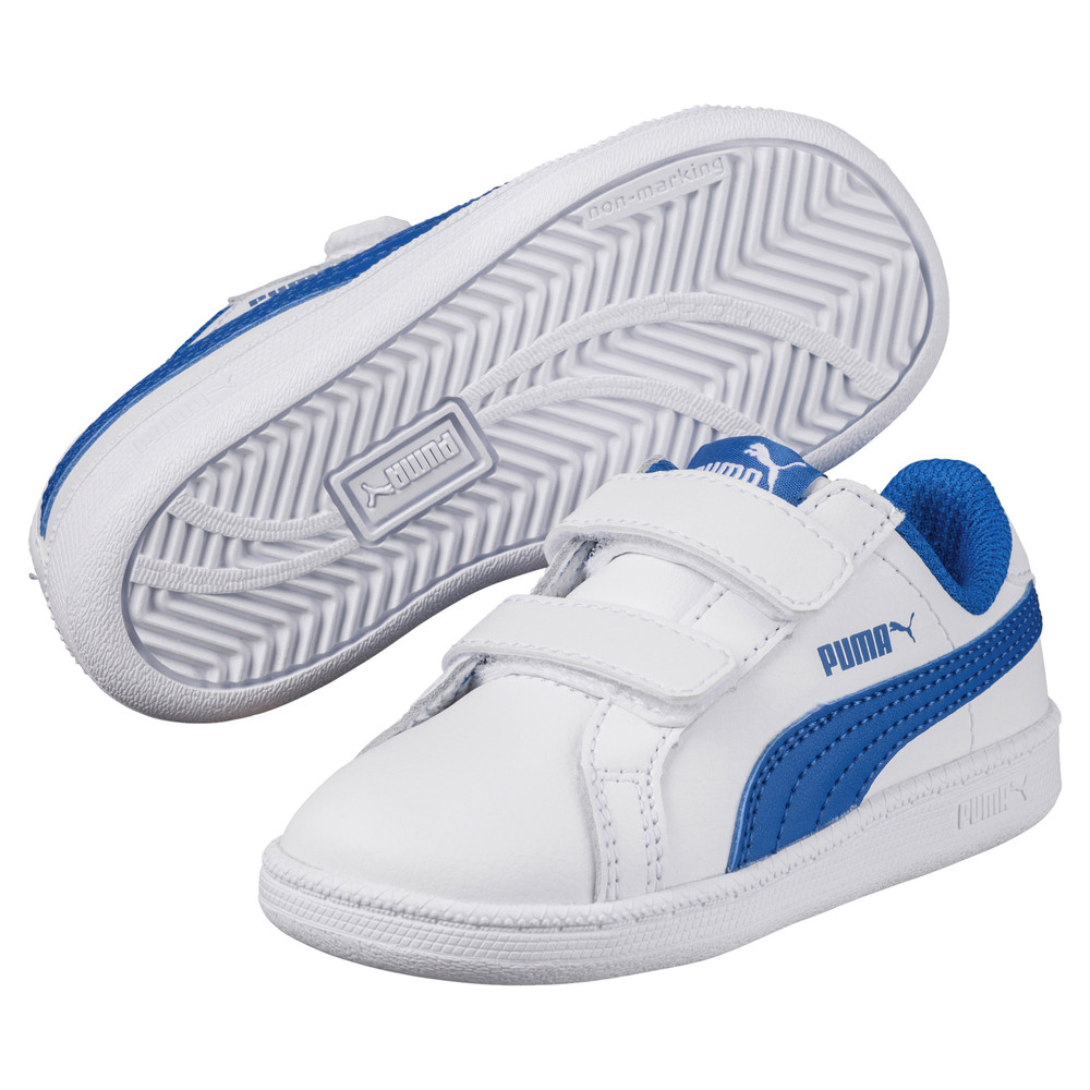 Image PUMA Smash Leather V PS Kids' Sneakers #2