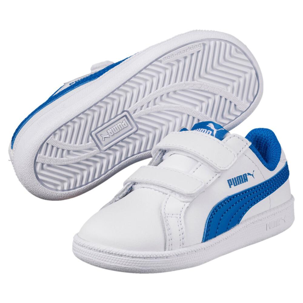 Image PUMA Smash Leather V PS Kids' Sneakers #1