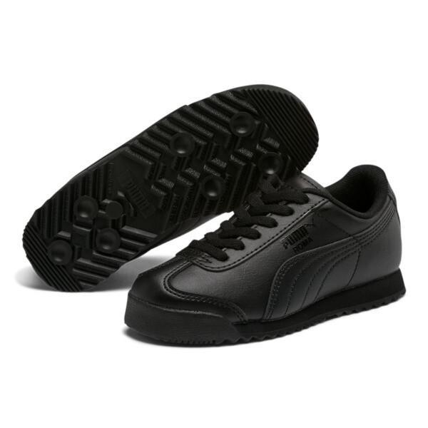 Roma Basic Sneakers PS, Puma Black-Puma Black, large