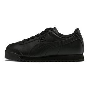 Thumbnail 1 of Roma Basic Sneakers PS, Puma Black-Puma Black, medium