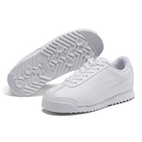 Thumbnail 2 of Roma Basic Sneakers PS, Puma White-Gray Violet, medium