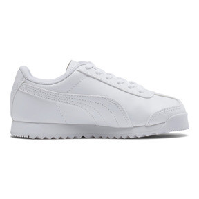 Thumbnail 5 of Roma Basic Sneakers PS, Puma White-Gray Violet, medium