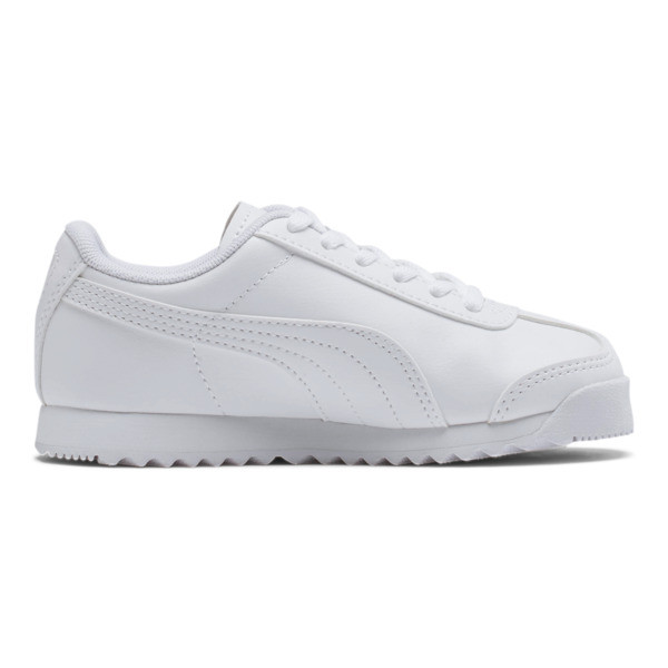 Roma Basic Sneakers PS, Puma White-Gray Violet, large