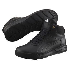 Thumbnail 2 of Desierto Trainer L High Tops, Puma Black-Puma Black, medium