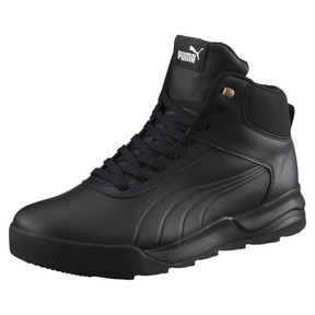 Thumbnail 1 of Desierto Trainer L High Tops, Puma Black-Puma Black, medium
