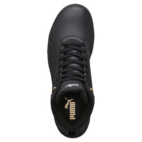 Thumbnail 5 of Desierto Trainer L High Tops, Puma Black-Puma Black, medium