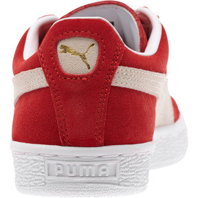 Thumbnail 4 of Suede Classic + Women's Sneakers, high risk red-white, medium