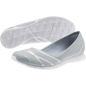 Thumbnail 2 of PUMA Vega Ballet Women's SL Shoes, Quarry-Puma Silver, medium