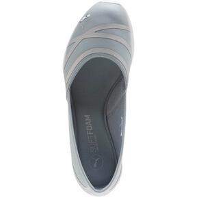 Thumbnail 5 of PUMA Vega Ballet Women's SL Shoes, Quarry-Puma Silver, medium